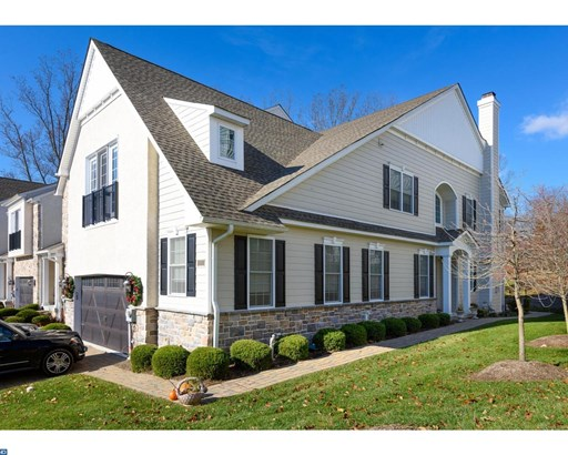 Row/Townhouse, Carriage House,Colonial - MEDIA, PA (photo 1)