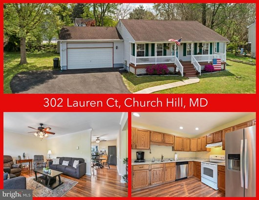 Detached, Single Family - CHURCH HILL, MD