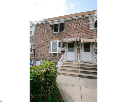 Row/Townhouse, Traditional,StraightThru - GLENOLDEN, PA (photo 2)