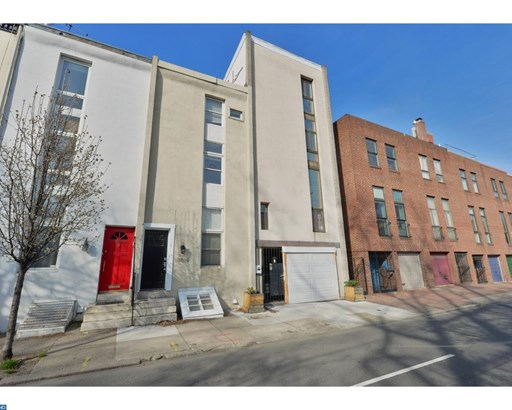 Row/Townhouse, Contemporary - PHILADELPHIA, PA (photo 2)