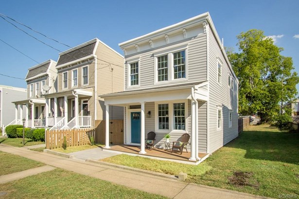 2-Story, Colonial, Rowhouse/Townhouse, Single Family - Richmond, VA