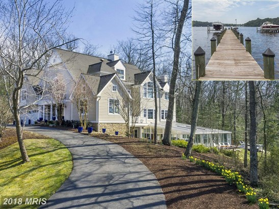 Detached, French Provincial - SEVERNA PARK, MD (photo 1)