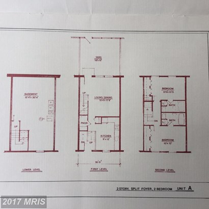 Split Foyer, Attach/Row Hse - BALTIMORE, MD (photo 4)