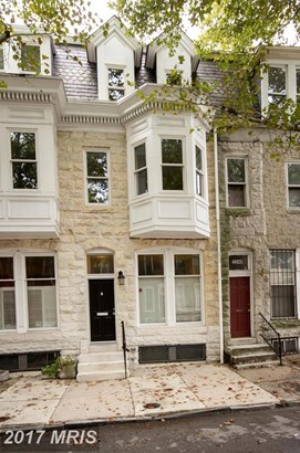 Victorian, Attach/Row Hse - BALTIMORE, MD (photo 1)