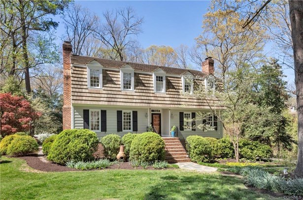 Colonial, Dutch Colonial, Two Story, Single Family - Richmond, VA