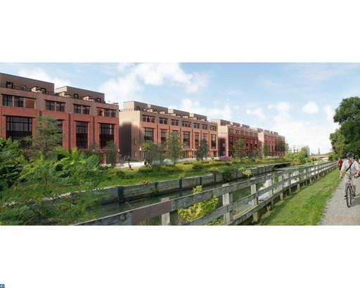Row/Townhouse, Contemporary,EndUnit/Row - PHILADELPHIA, PA