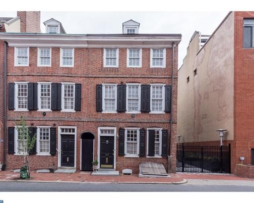 Row/Townhouse, Traditional,EndUnit/Row - PHILADELPHIA, PA (photo 1)