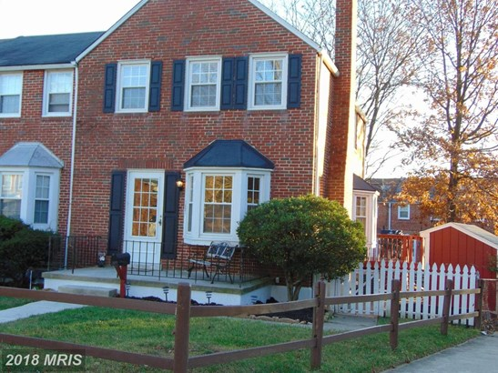 Semi-Detached, Colonial - TOWSON, MD (photo 2)