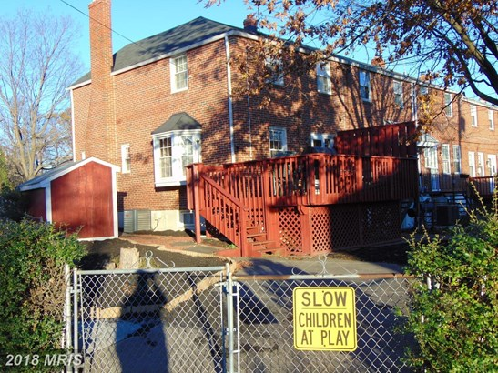 Semi-Detached, Colonial - TOWSON, MD (photo 3)
