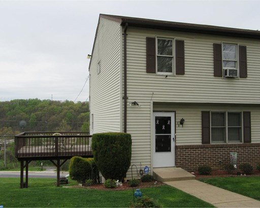 Semi-Detached, Colonial - COATESVILLE, PA (photo 2)