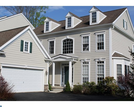 Row/Townhouse, Colonial - NEWTOWN SQUARE, PA (photo 1)