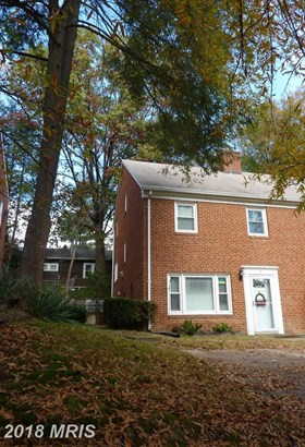 Townhouse, Colonial - TAKOMA PARK, MD (photo 1)