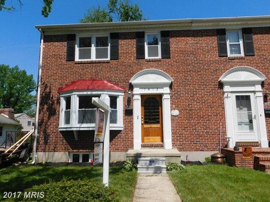Semi-Detached, Traditional - TOWSON, MD (photo 1)