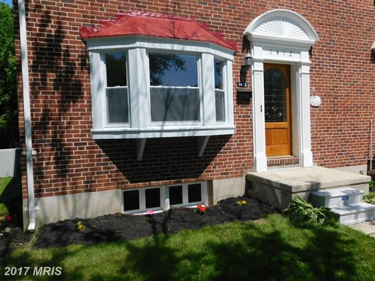 Semi-Detached, Traditional - TOWSON, MD (photo 3)