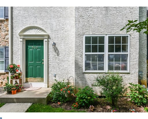 Row/Townhouse, Colonial - WEST CHESTER, PA (photo 2)