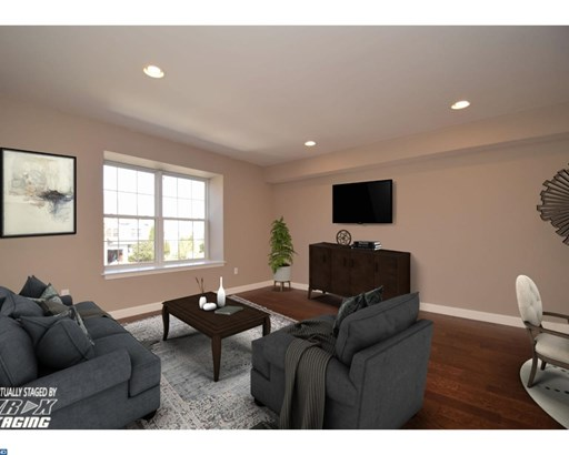 Row/Townhouse, Contemporary - COLLEGEVILLE, PA (photo 4)