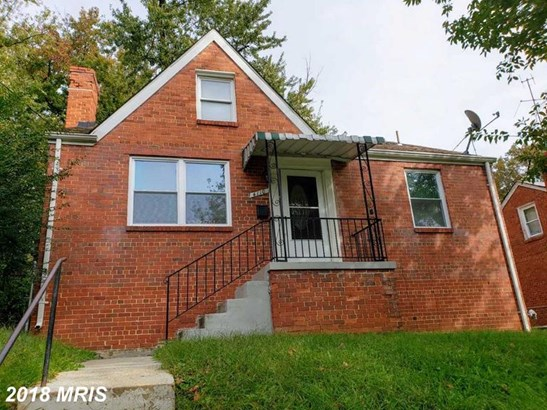 Cape Cod, Detached - CAPITOL HEIGHTS, MD