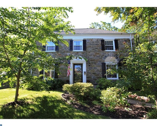Colonial, Detached - WYNNEWOOD, PA (photo 1)