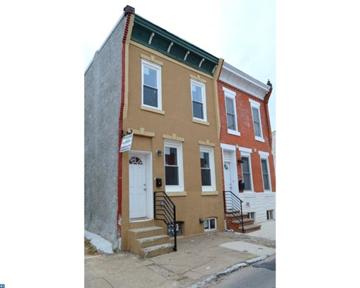 Row/Townhouse/Cluster, Traditional - PHILADELPHIA, PA (photo 1)