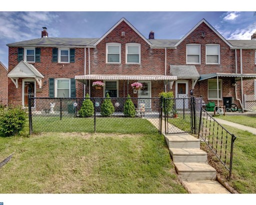 Row/Townhouse, Colonial - RIDLEY PARK, PA (photo 1)