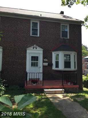 Traditional, Attach/Row Hse - CATONSVILLE, MD (photo 1)