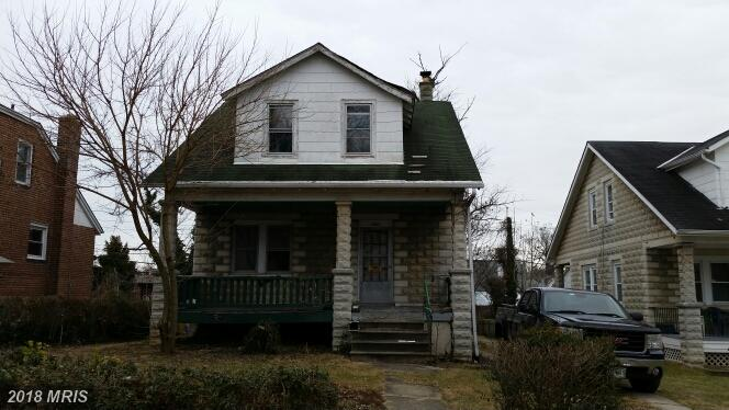 Bungalow, Detached - BALTIMORE, MD (photo 1)