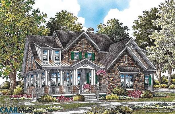 Proposed Detached, Arts & Crafts, Cottage, Shingle - CROZET, VA (photo 1)