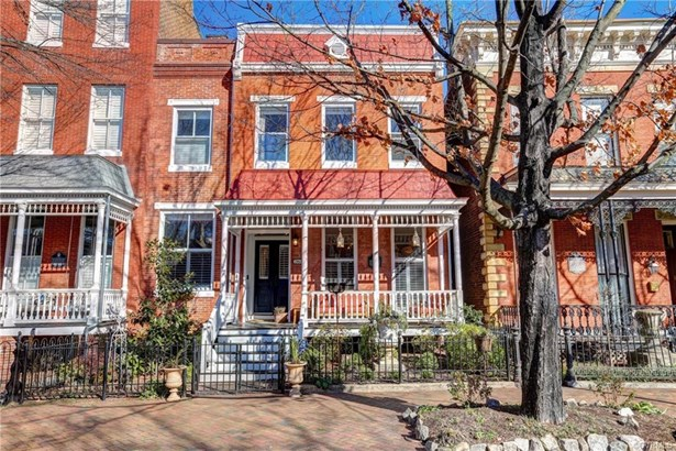Row House, Two Story, Single Family - Richmond, VA