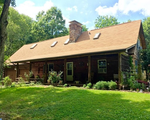 Colonial,Log Home, Detached - SELLERSVILLE, PA (photo 1)