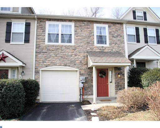 Colonial, Row/Townhouse/Cluster - HONEY BROOK, PA (photo 1)