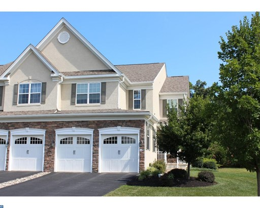 Colonial, Row/Townhouse/Cluster - CHESTER SPRINGS, PA (photo 1)