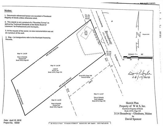 Cross Property - Glenburn, ME
