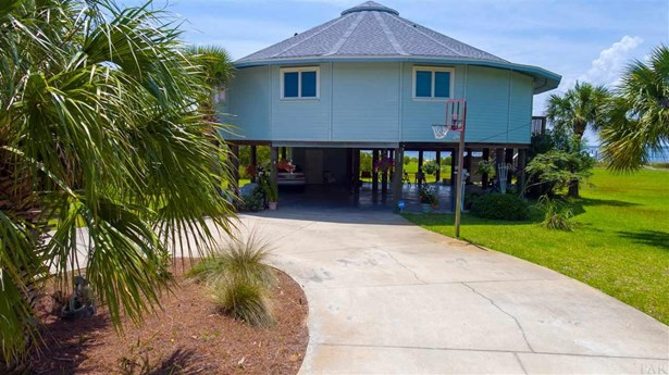 RES DETACHED, CONTEMPORARY - PENSACOLA BEACH, FL