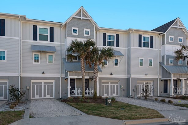 COTTAGE,TRADITIONAL, RES ATTACHED - PERDIDO KEY, FL