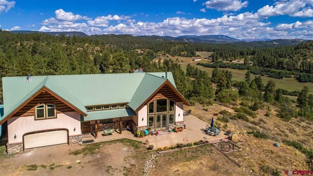 With Residence, Log - Bayfield, CO (photo 2)