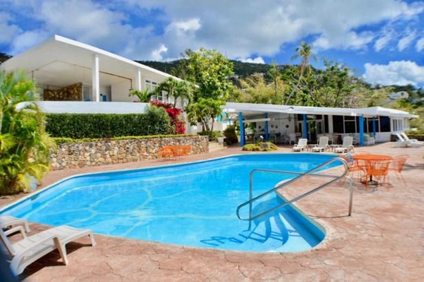 Pool and both homes (photo 1)