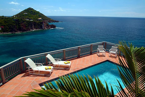 Pool and Caribbean Sea View (photo 1)