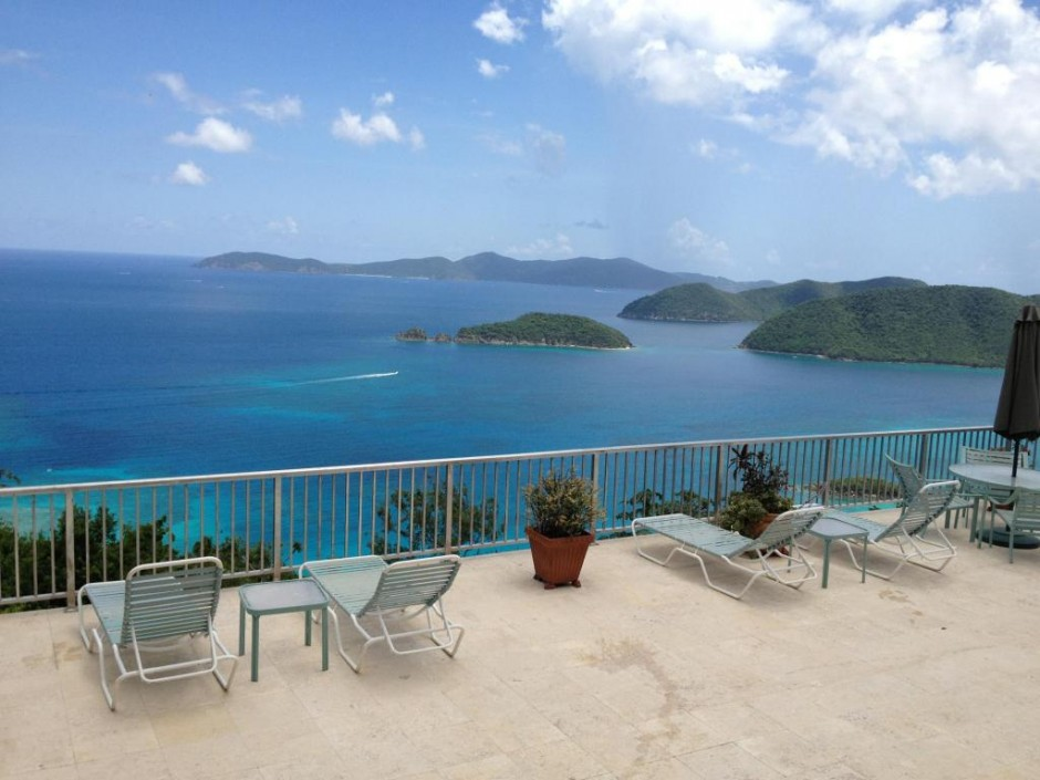 Expansive sun deck has views to BVIs and (photo 2)