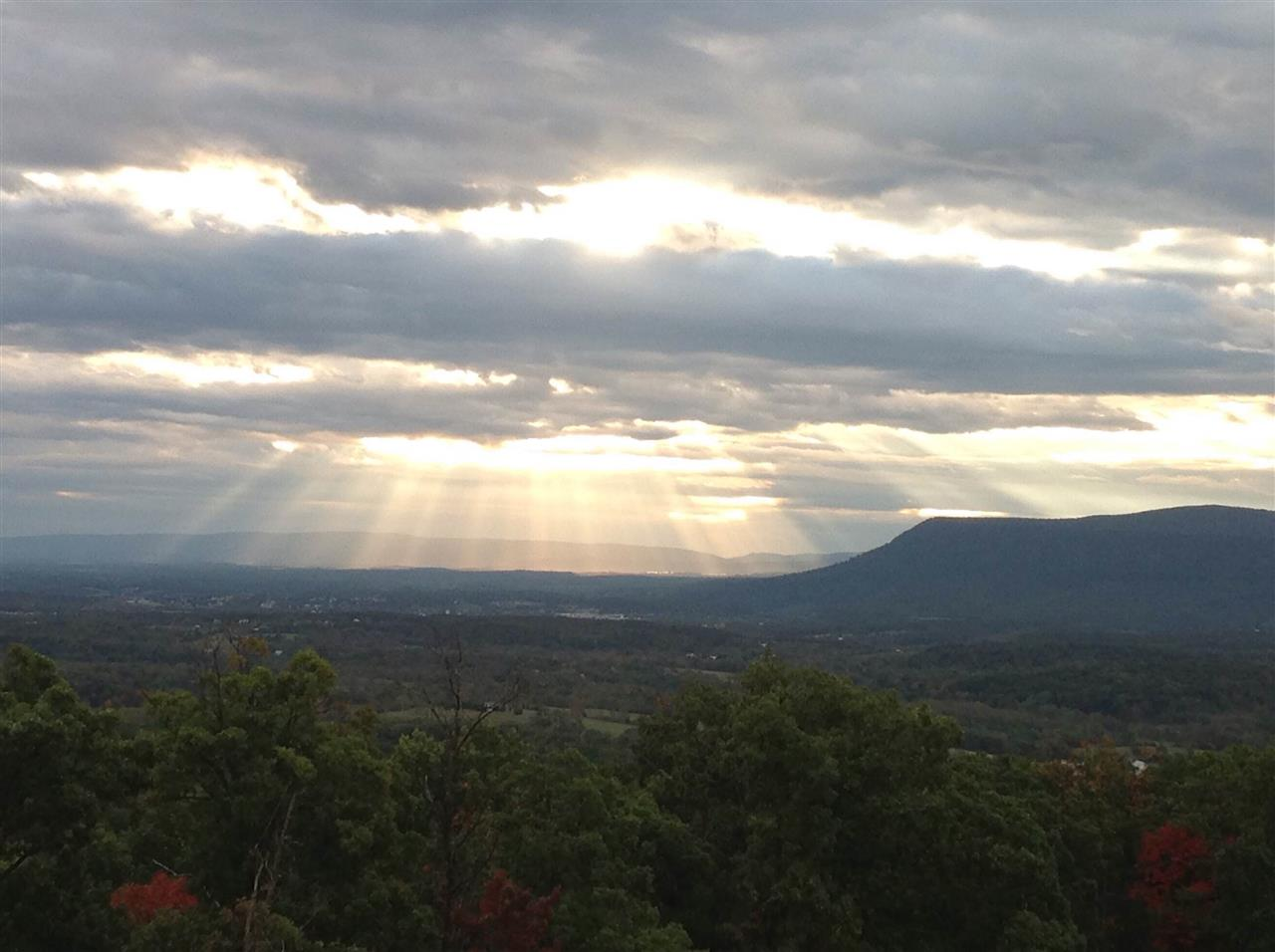 Beautiful View of the Valley.  Taken in Shenandoah Valley, VA and the mountains are Appalachian Mountains