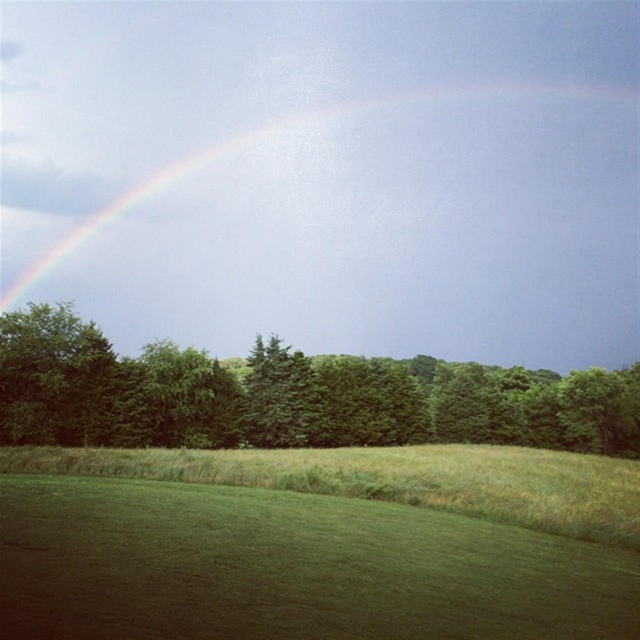 Clary/Oranda area of Strasburg, VA - rainbow