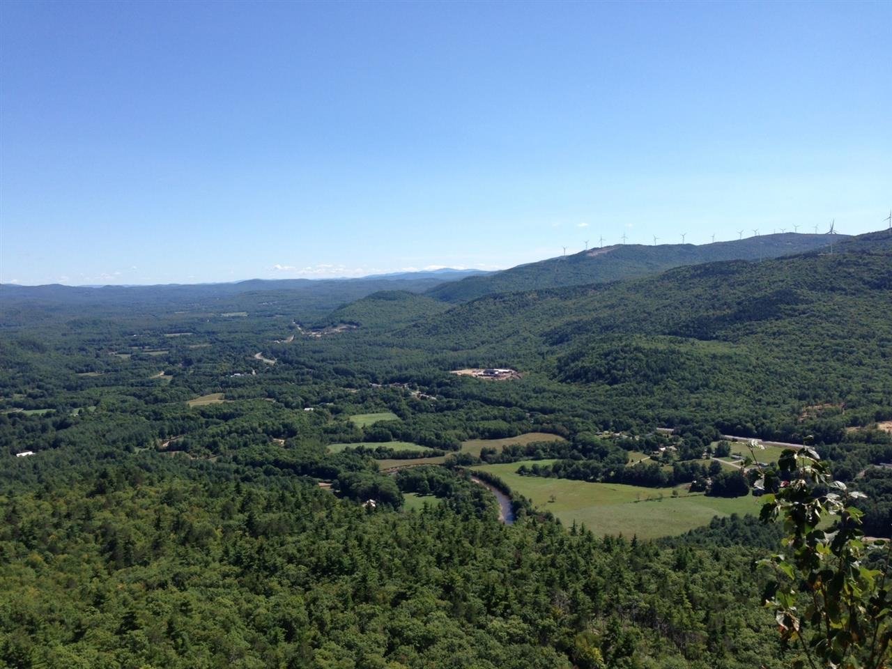 Rumney, NH. View from the top of Rattlesnake Mountain. A great place to take a hike!