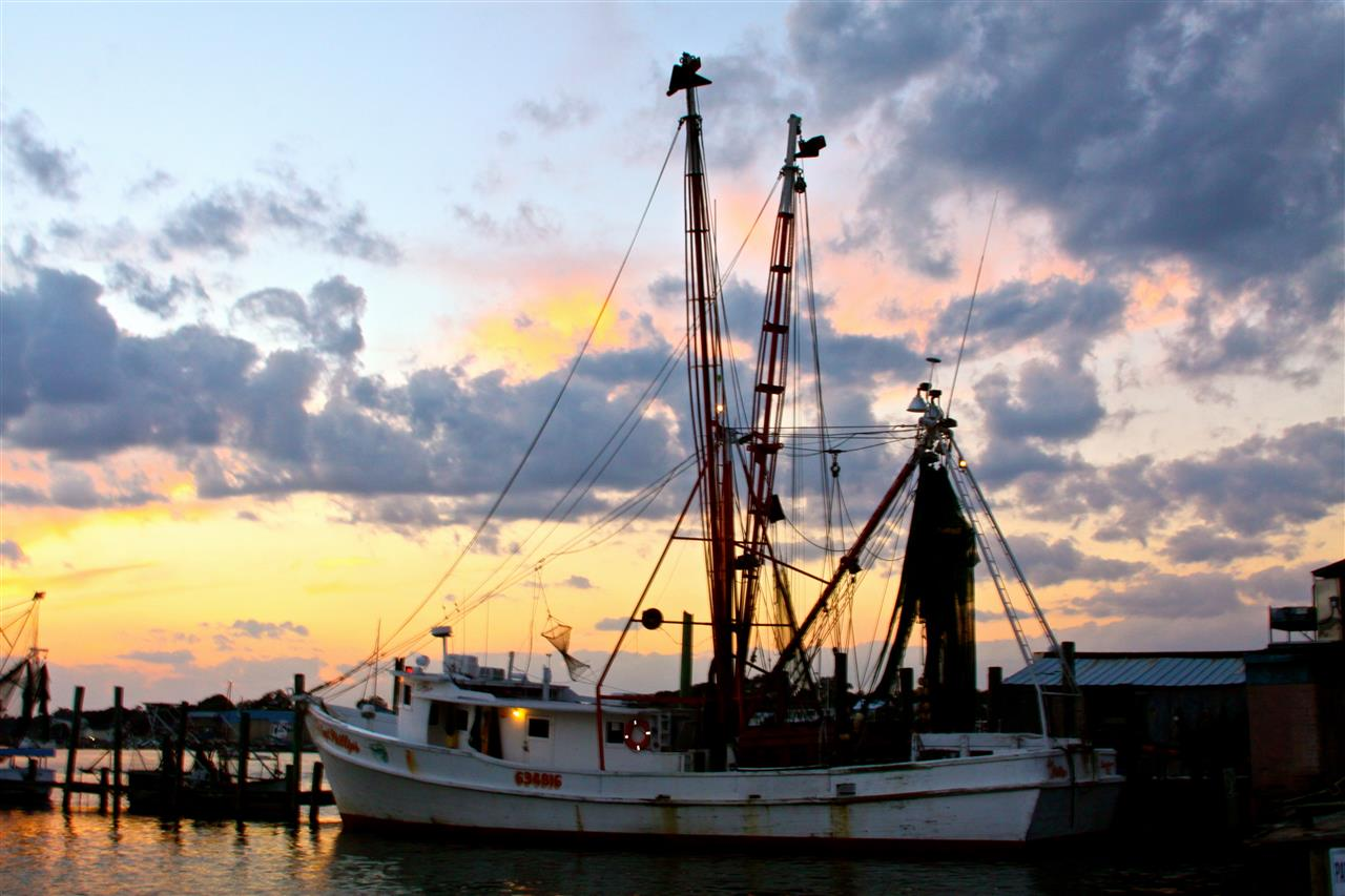 Captain Phillips Seafood boat, Swansboro, NC