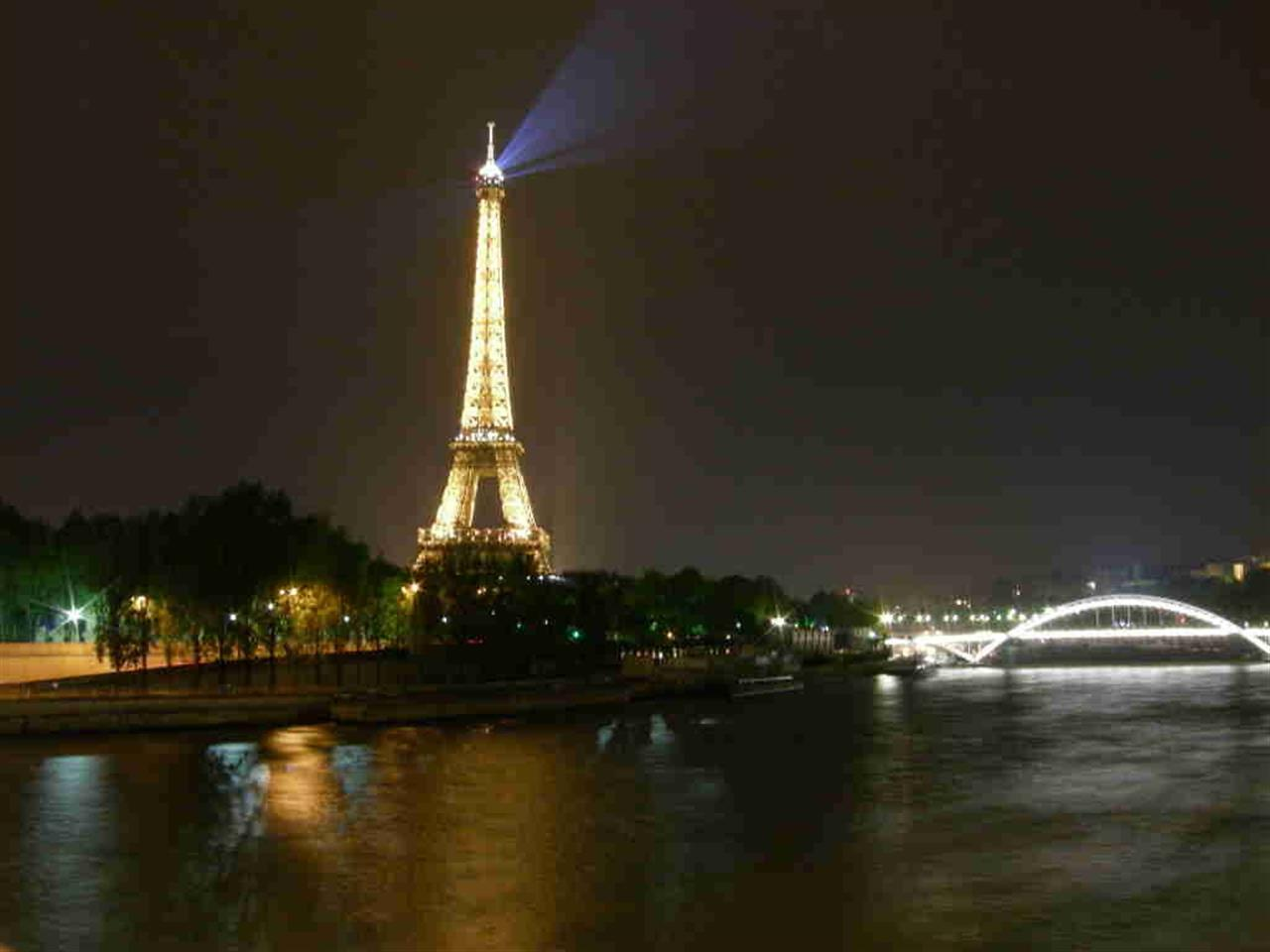 #ParisAtNight