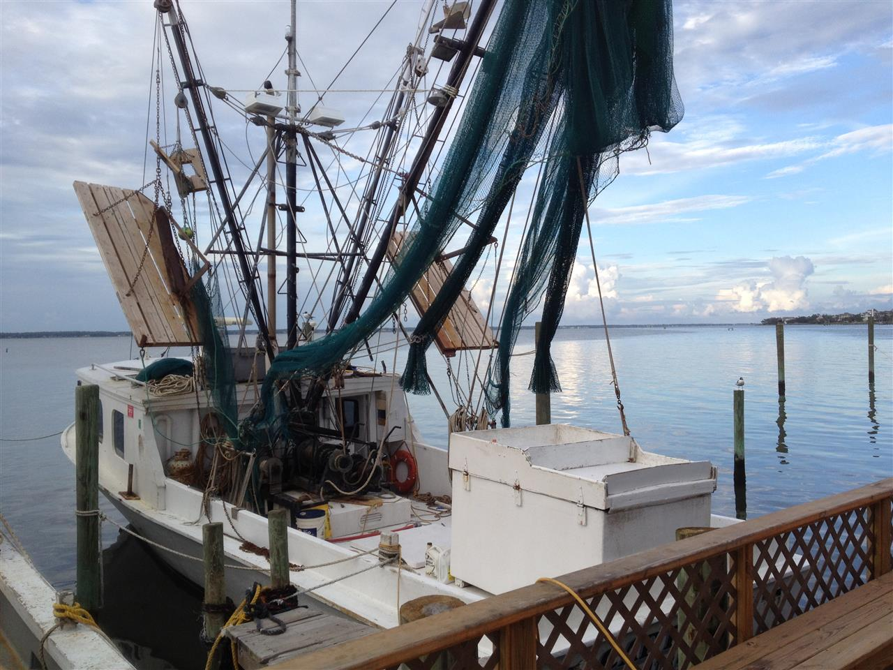 Shrimp Trawler from Salter Path