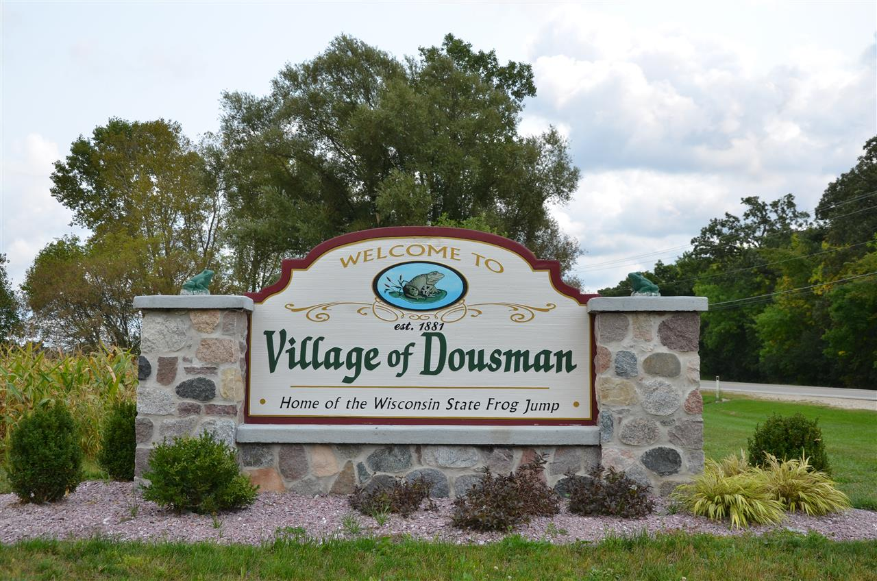 Dousman, Wisconsin. Home of the State Frog jump!