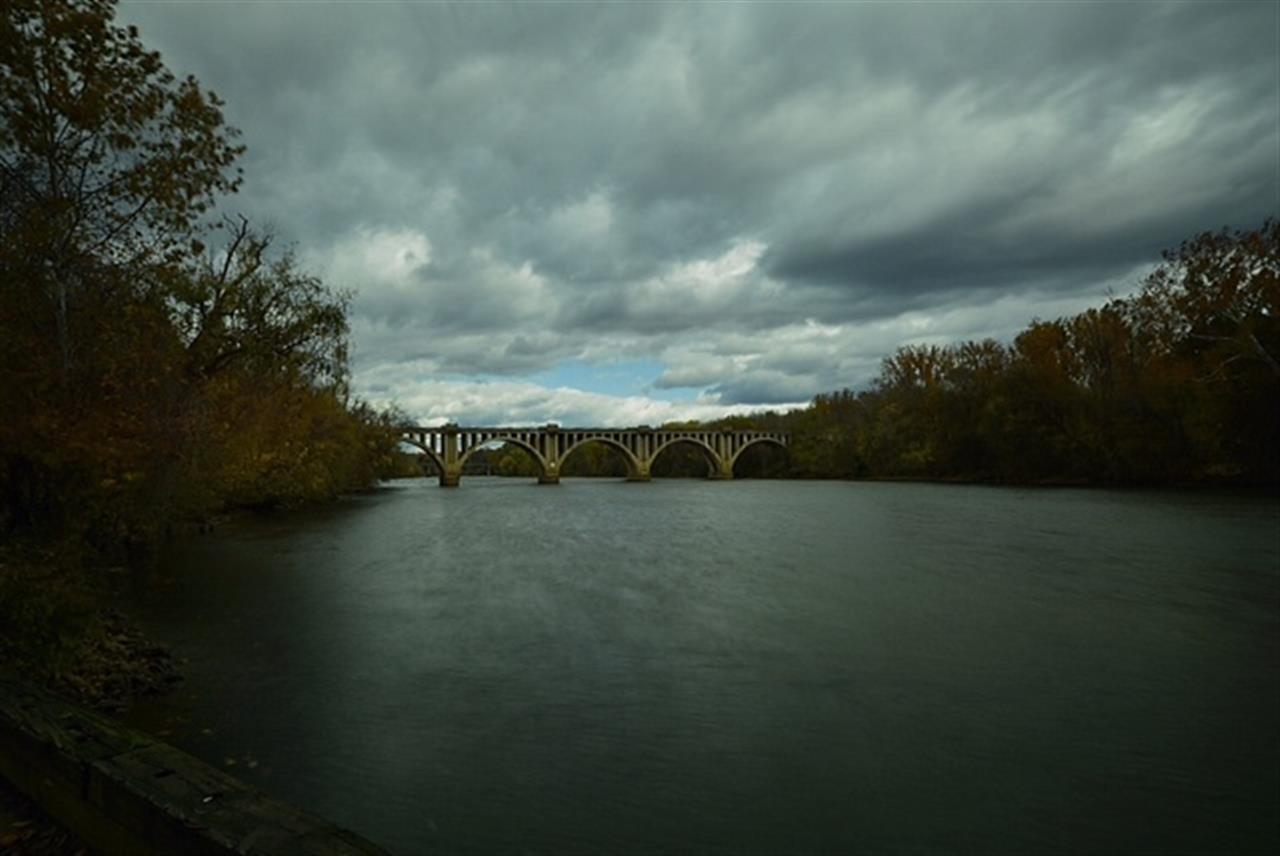 Rappahannock River and Chatham Bridge, Fredericksburg VA