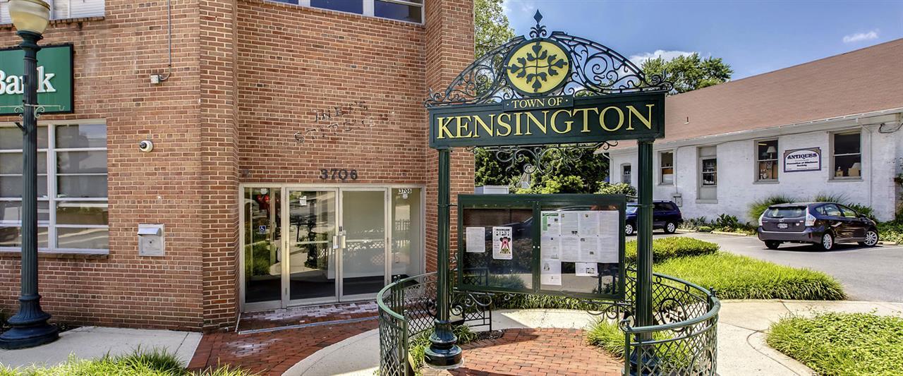 Kensington, Maryland City Sign