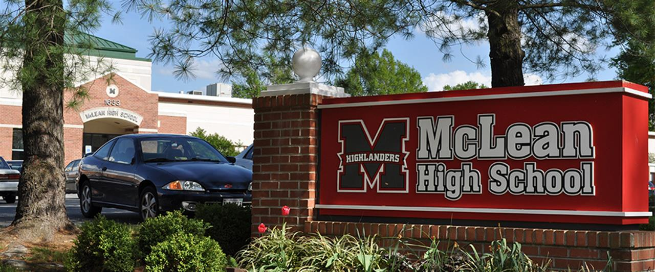 McLean, Virginia McLean High School
