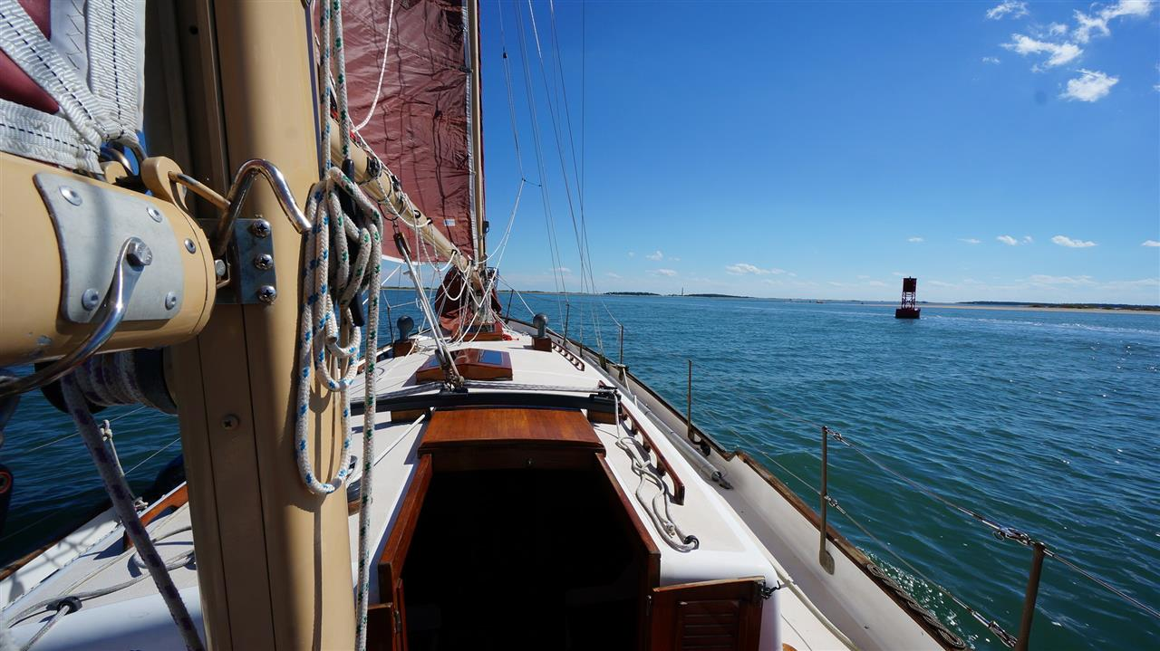 sailing to cape LookOut, NC