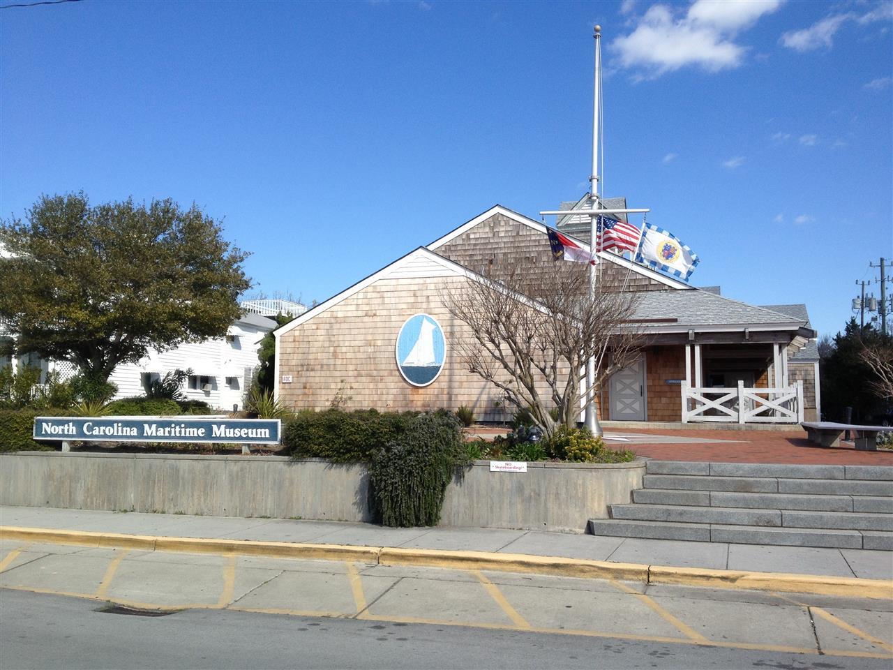 Maritime Museum Exterior Beaufort